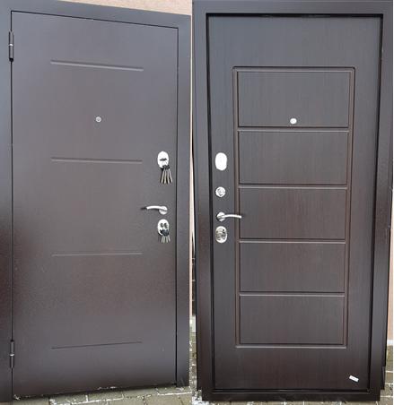 Metāla durvis mājai dzīvoklim