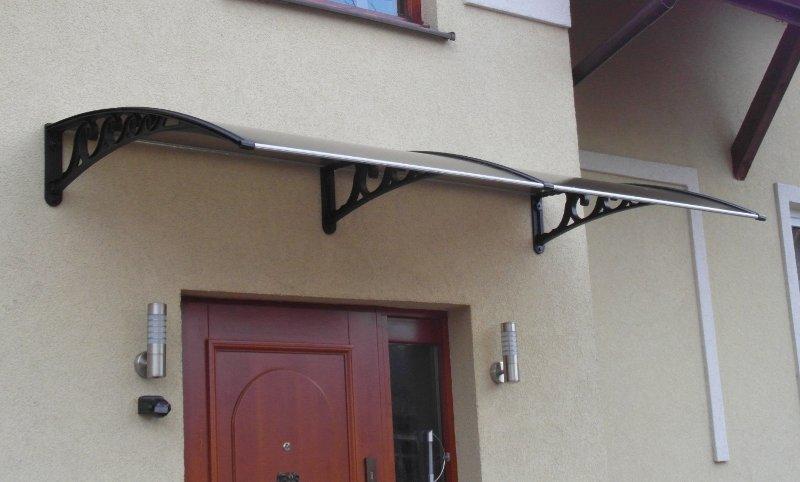 jumtiņš durvīm 2500x800